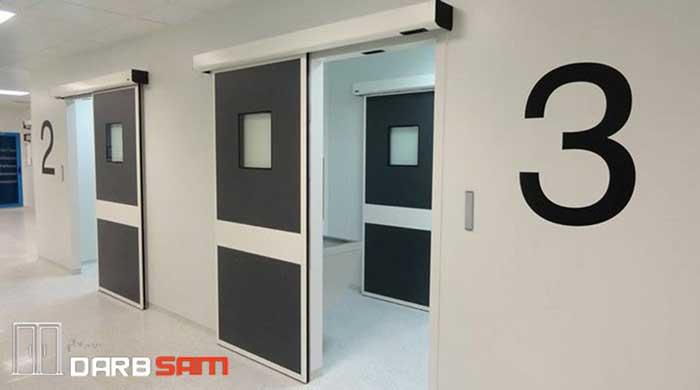 درب اتوماتیک بیمارستان